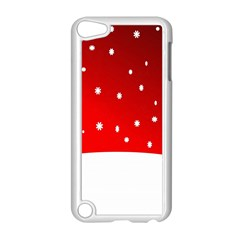 Christmas Background  Apple Ipod Touch 5 Case (white) by Nexatart