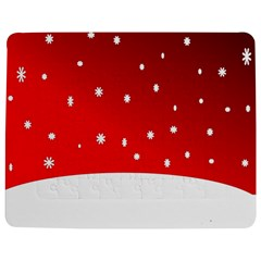 Christmas Background  Jigsaw Puzzle Photo Stand (rectangular) by Nexatart