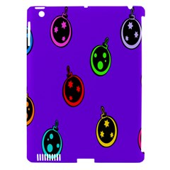 Christmas Baubles Apple Ipad 3/4 Hardshell Case (compatible With Smart Cover)