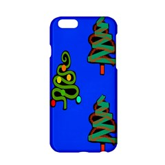 Christmas Trees Apple Iphone 6/6s Hardshell Case by Nexatart
