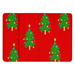 Christmas Trees Samsung Galaxy Tab 8 9  P7300 Flip Case by Nexatart