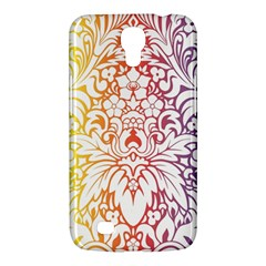Cool Flower Rainbow Blue Purple Red Orange Yellow Green Samsung Galaxy Mega 6 3  I9200 Hardshell Case by Jojostore