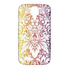 Cool Flower Rainbow Blue Purple Red Orange Yellow Green Samsung Galaxy S4 Classic Hardshell Case (pc+silicone) by Jojostore