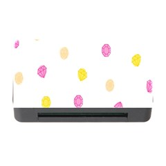Diamond Pink Yellow Memory Card Reader With Cf