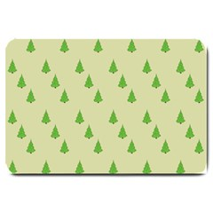 Christmas Wrapping Paper Pattern Large Doormat  by Nexatart