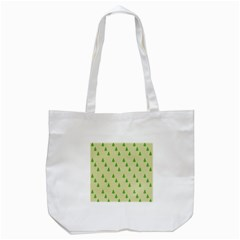 Christmas Wrapping Paper Pattern Tote Bag (white) by Nexatart