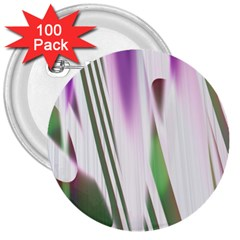 Colored Pattern 3  Buttons (100 Pack)