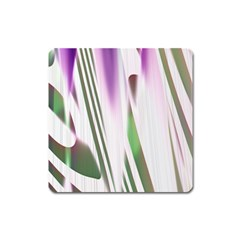 Colored Pattern Square Magnet