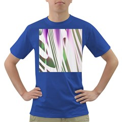 Colored Pattern Dark T Shirt