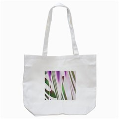 Colored Pattern Tote Bag (white)