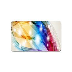 Colour Abstract Magnet (name Card)