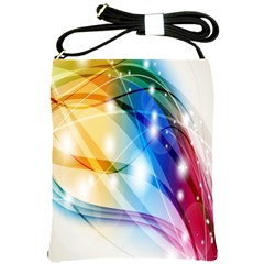 Colour Abstract Shoulder Sling Bags