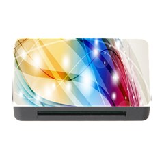 Colour Abstract Memory Card Reader With Cf by Nexatart