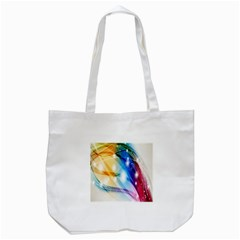 Colour Abstract Tote Bag (white)
