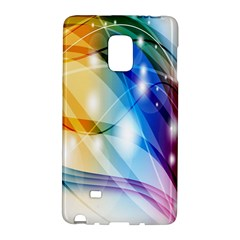 Colour Abstract Galaxy Note Edge by Nexatart