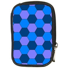 Four Colour Theorem Blue Grey Compact Camera Cases