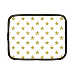 Gold Stars Netbook Case (small)  by Jojostore