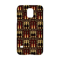 Egyptianpattern Colour Red Samsung Galaxy S5 Hardshell Case  by Jojostore