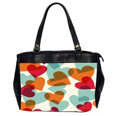 Heart Office Handbags (2 Sides)