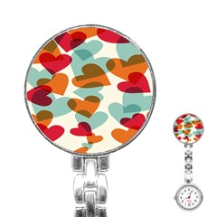 Heart Stainless Steel Nurses Watch by Jojostore