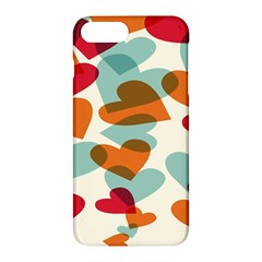 Heart Apple Iphone 7 Plus Hardshell Case by Jojostore