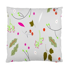 High Res Leaf Flower Fruit Standard Cushion Case (two Sides) by Jojostore