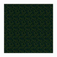 Grid Background Green Medium Glasses Cloth (2 Side)