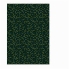Grid Background Green Large Garden Flag (two Sides) by Jojostore