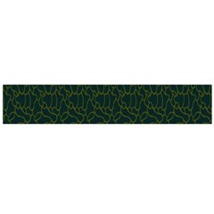 Grid Background Green Flano Scarf (large)