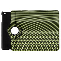 Hexagon Green Apple Ipad Mini Flip 360 Case by Jojostore