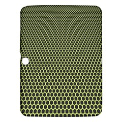 Hexagon Green Samsung Galaxy Tab 3 (10 1 ) P5200 Hardshell Case
