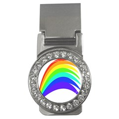 Rainbow Money Clips (cz)