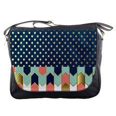Preppy Personalized Yubo Lunch Box Gold Blue Pink Grey Messenger Bags