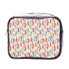 Splash Pattern Color Sign Mini Toiletries Bags