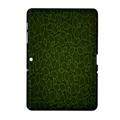 Leaves Dark Samsung Galaxy Tab 2 (10 1 ) P5100 Hardshell Case  by Jojostore