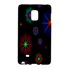 Star Circles Colorful Glitter Galaxy Note Edge by Jojostore