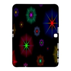 Star Circles Colorful Glitter Samsung Galaxy Tab 4 (10 1 ) Hardshell Case