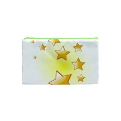 Star Gold Cosmetic Bag (xs) by Jojostore
