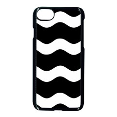 Wave Black Apple Iphone 7 Seamless Case (black) by Jojostore