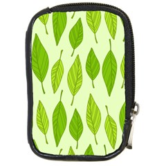 Spring Leaf Green Compact Camera Cases by Jojostore