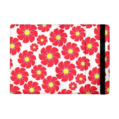 Seamless Floral Flower Red Fan Red Rose Ipad Mini 2 Flip Cases by Jojostore