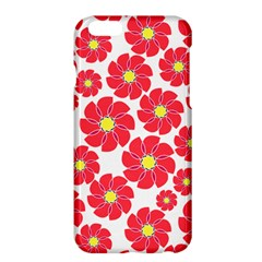 Seamless Floral Flower Red Fan Red Rose Apple Iphone 6 Plus/6s Plus Hardshell Case by Jojostore
