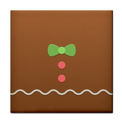Stunning Gingerbread Brown Bread Face Towel
