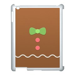 Stunning Gingerbread Brown Bread Apple Ipad 3/4 Case (white) by Jojostore