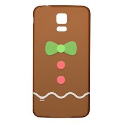 Stunning Gingerbread Brown Bread Samsung Galaxy S5 Back Case (white) by Jojostore