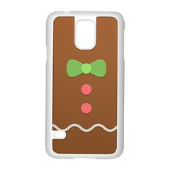 Stunning Gingerbread Brown Bread Samsung Galaxy S5 Case (white) by Jojostore