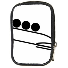 Bobsleigh Pictogram Compact Camera Cases by abbeyz71