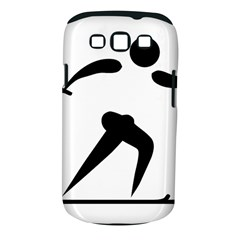 Cross Country Skiing Pictogram Samsung Galaxy S Iii Classic Hardshell Case (pc+silicone) by abbeyz71