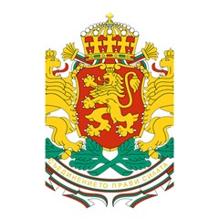 Coat Of Arms Of Bulgaria Shower Curtain 48  X 72  (small)  by abbeyz71