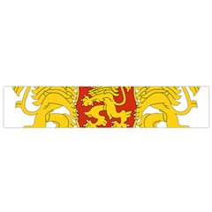 Coat Of Arms Of Bulgaria Flano Scarf (small)